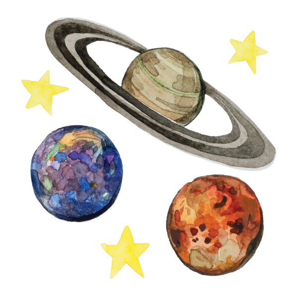 Artist Series Stickers: Planets (STC-512)