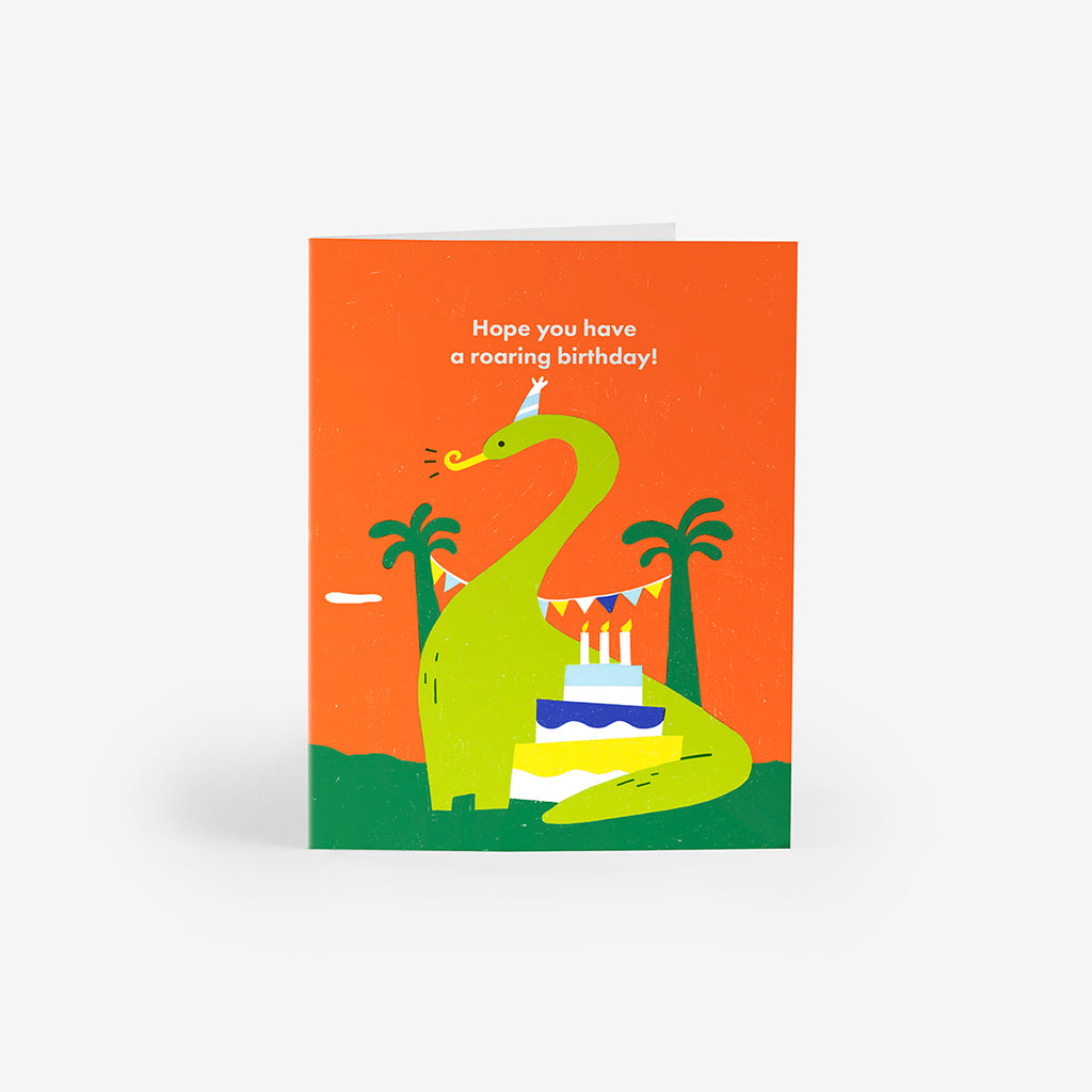 Jurassic Party Greeting Card