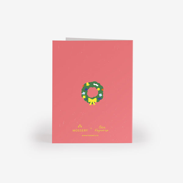 Garland Hoops Greeting Card