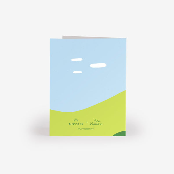 Cloud Watching Greeting Card