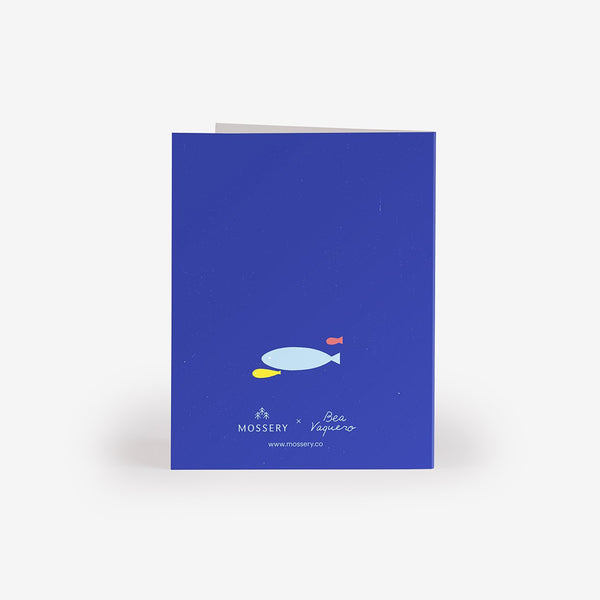 Fishbowl Lovers Greeting Card
