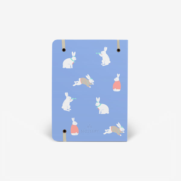 Bunny Blue Threadbound Notebook