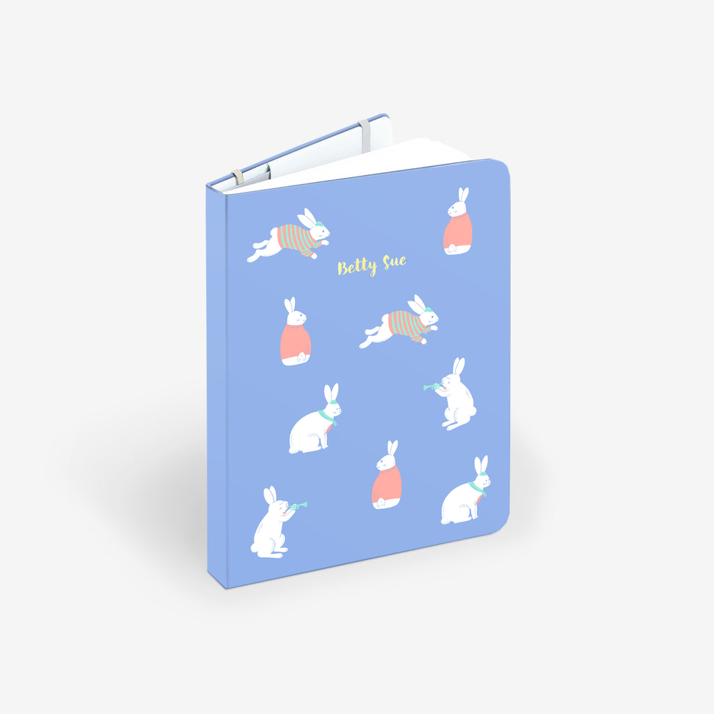 Bunny Blue Twinbook