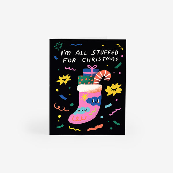 Christmas Stocking Greeting Card