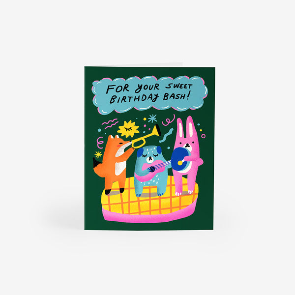 Birthday Jazz Greeting Card