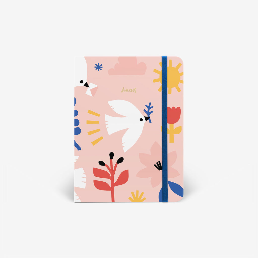 Delivery Doves Threadbound Notebook