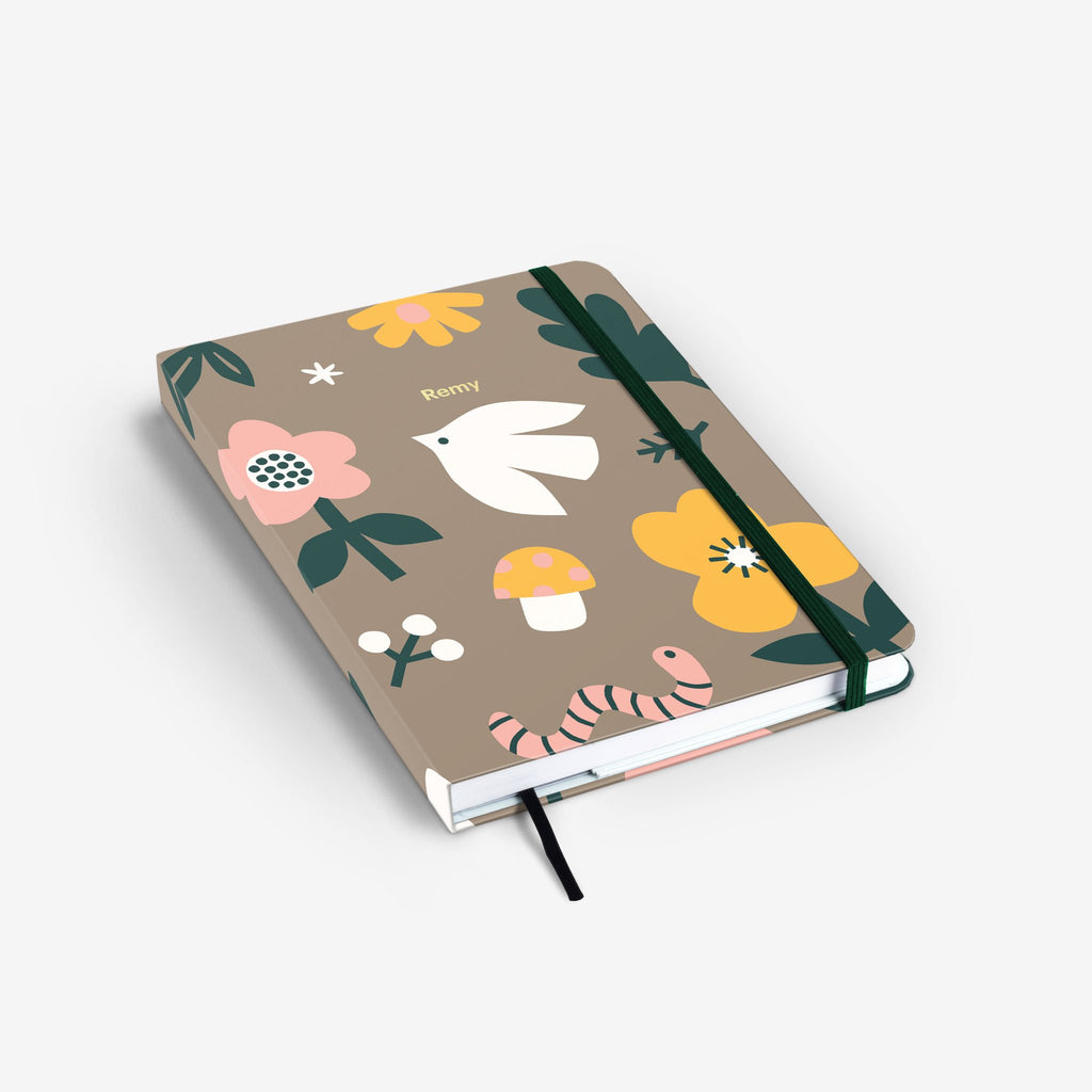 Forest Scouts Threadbound Notebook