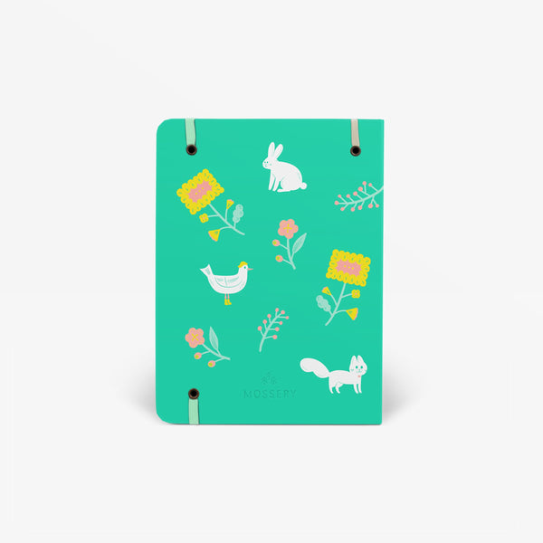 Garden Green Threadbound Notebook