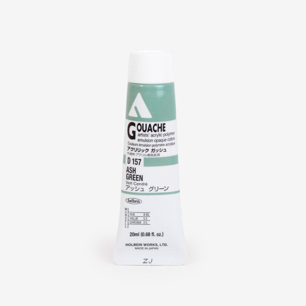 Holbein Acryla Gouache 20ml Tube - Ash Green