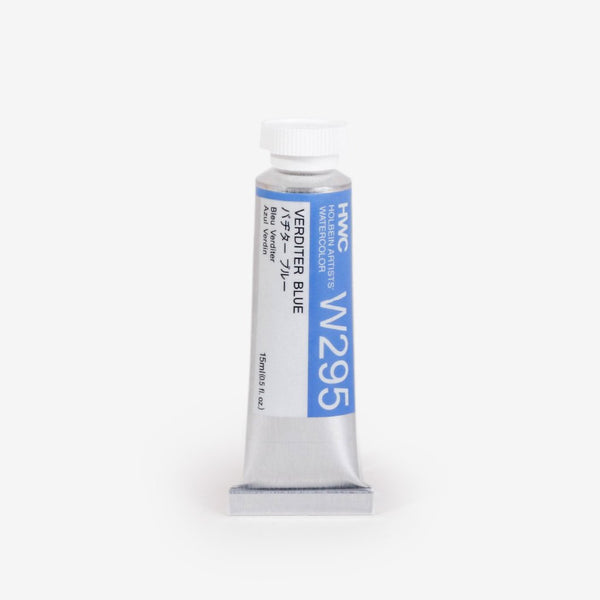 Holbein Artist's Watercolors 15ml Tube - Verditer Blue