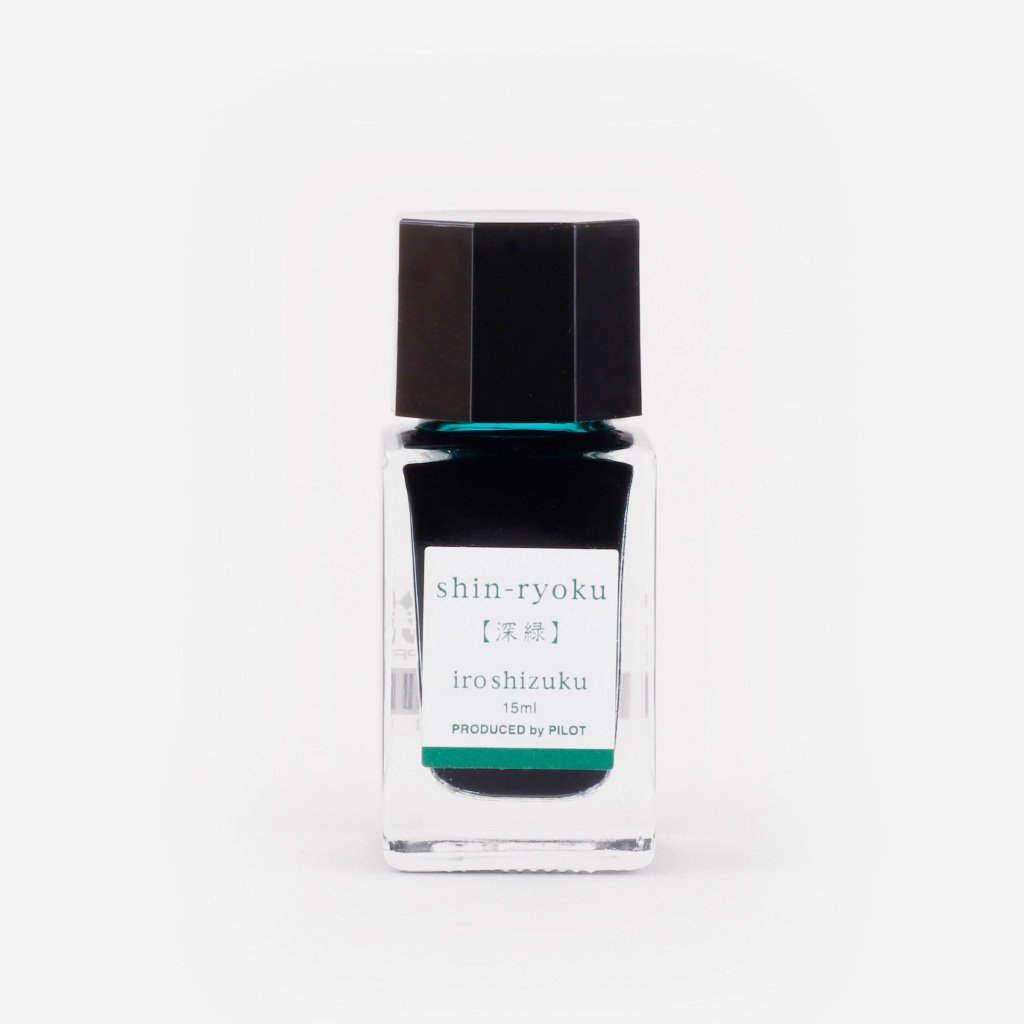 Pilot Iroshizuku Ink Shin-ryoku (Deep Green) - 15 ml