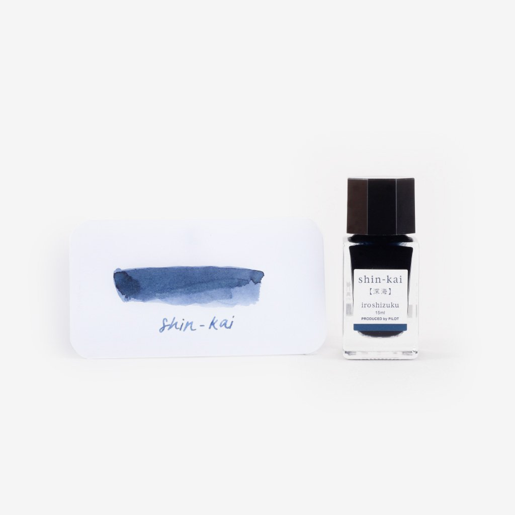 Pilot Iroshizuku Ink Shin-kai (Deep Sea) - 15 ml