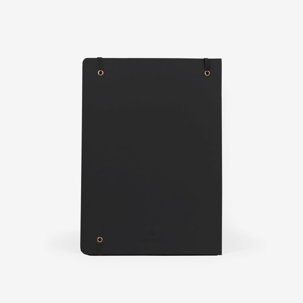 Plain Black Large Sketchbook
