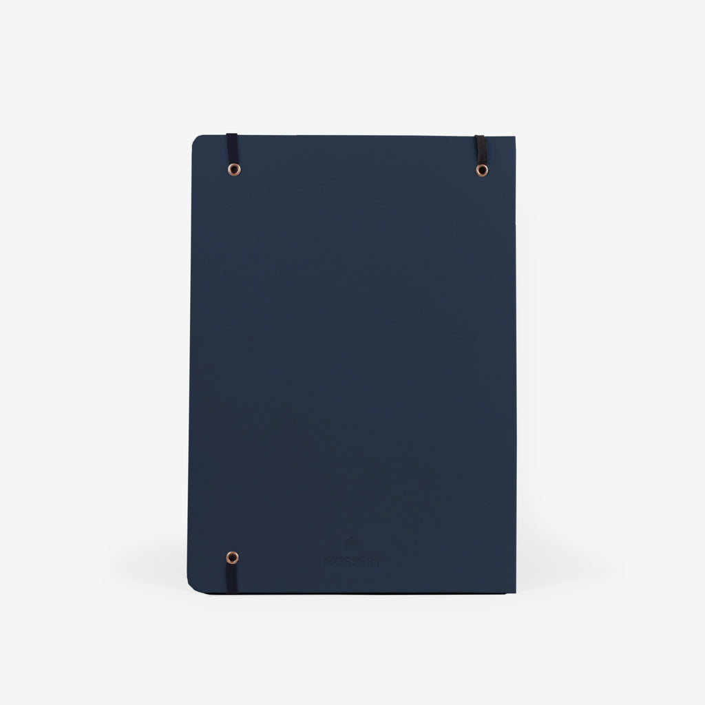 Plain Navy Large Sketchbook