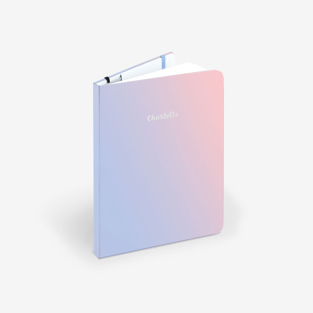 Pastel Sky Light Threadbound Notebook