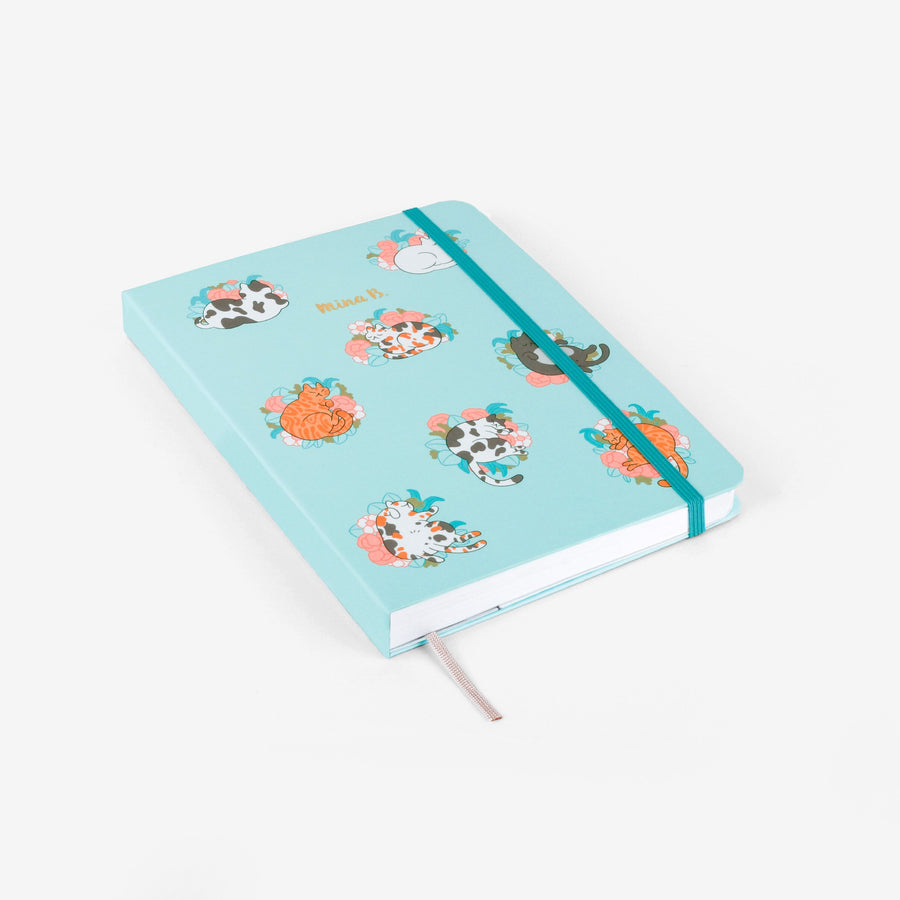 Blossom Cats Undated Planner