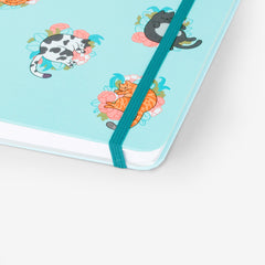 Blossom Cats Threadbound Notebook
