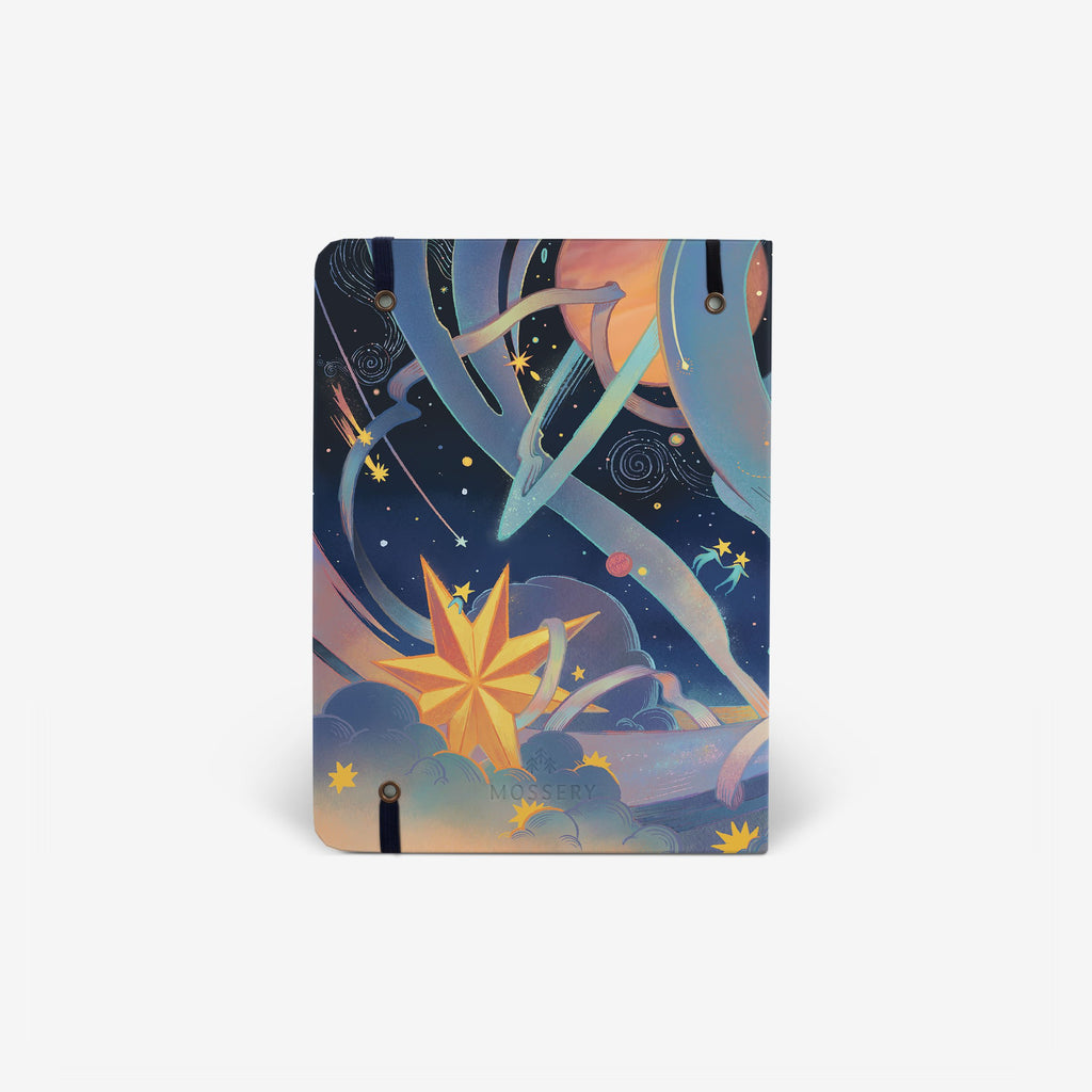Cosmic Adventure Threadbound Notebook