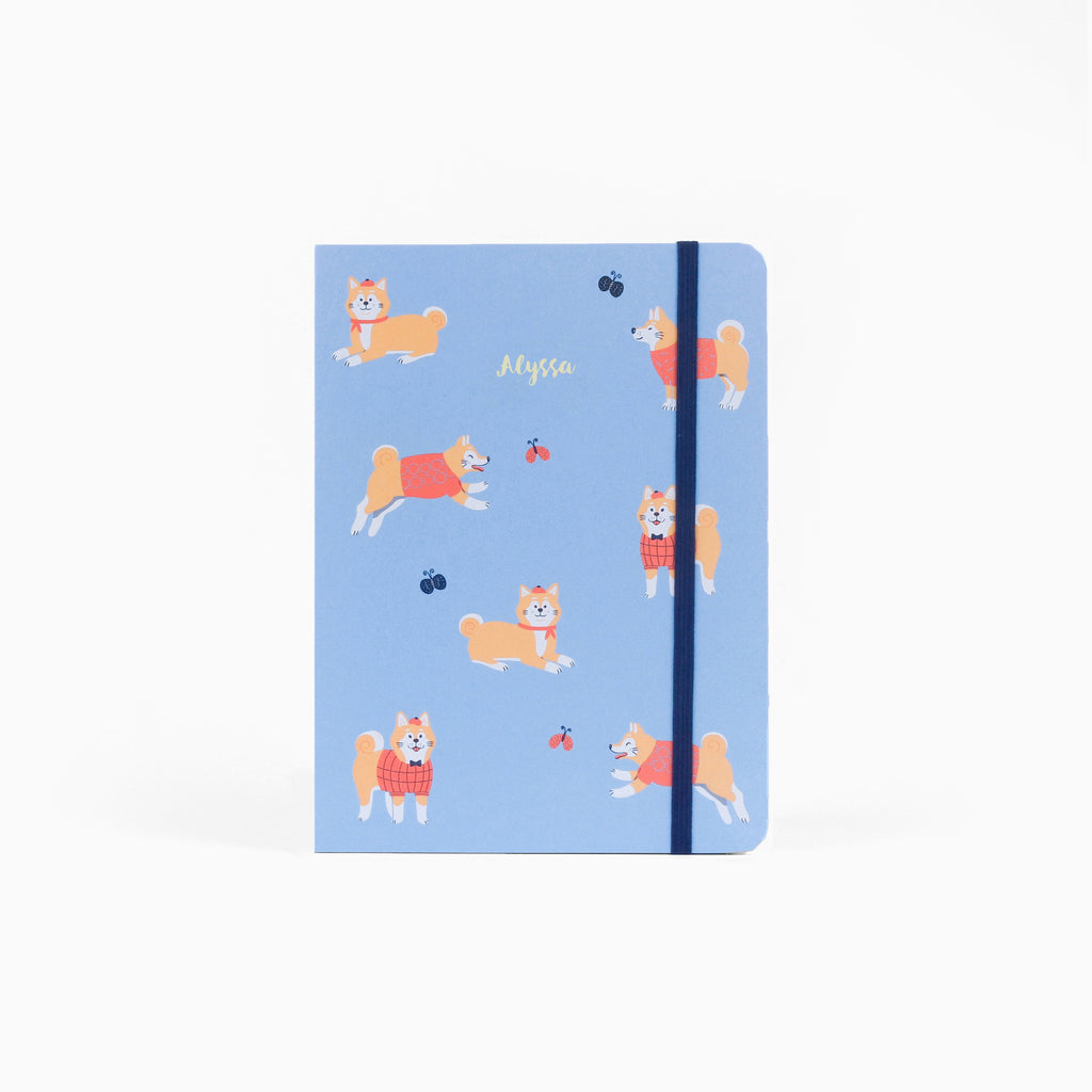 Shiba Royal Half-Year Planner + Notebook