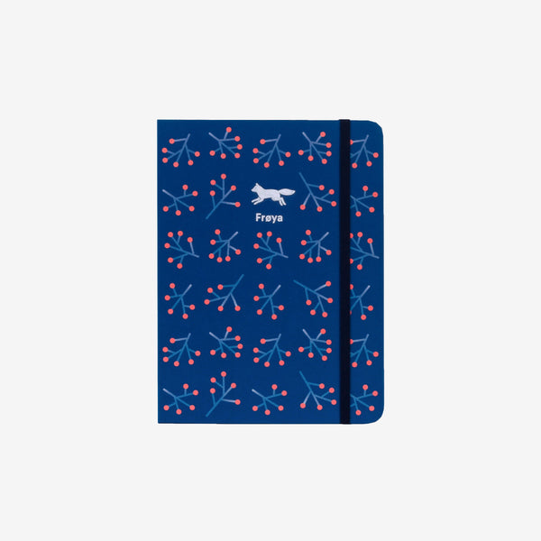 Winter Blossom Medium Threadbound Notebook