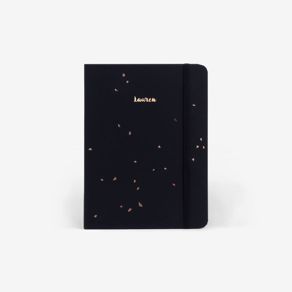 Black Speckle 2019 Planner Cover