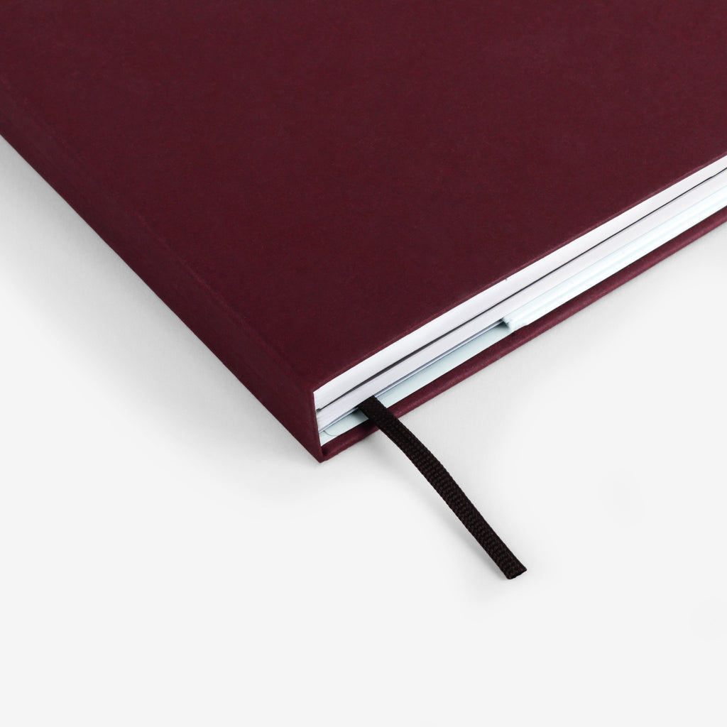 Plain Burgundy Twinbook