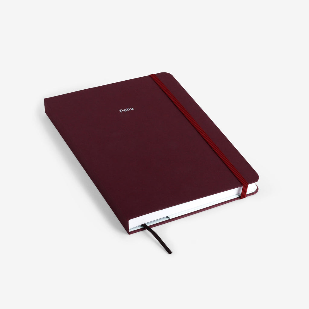 Second Chance: Plain Burgundy 2020 Planner