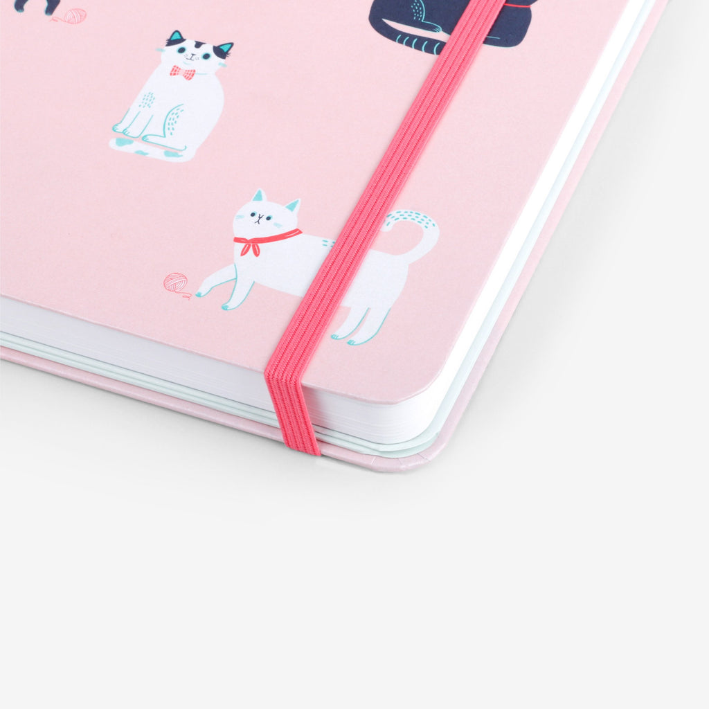 Cats Pink Undated Planner