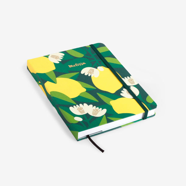Lemon Tree Threadbound Notebook