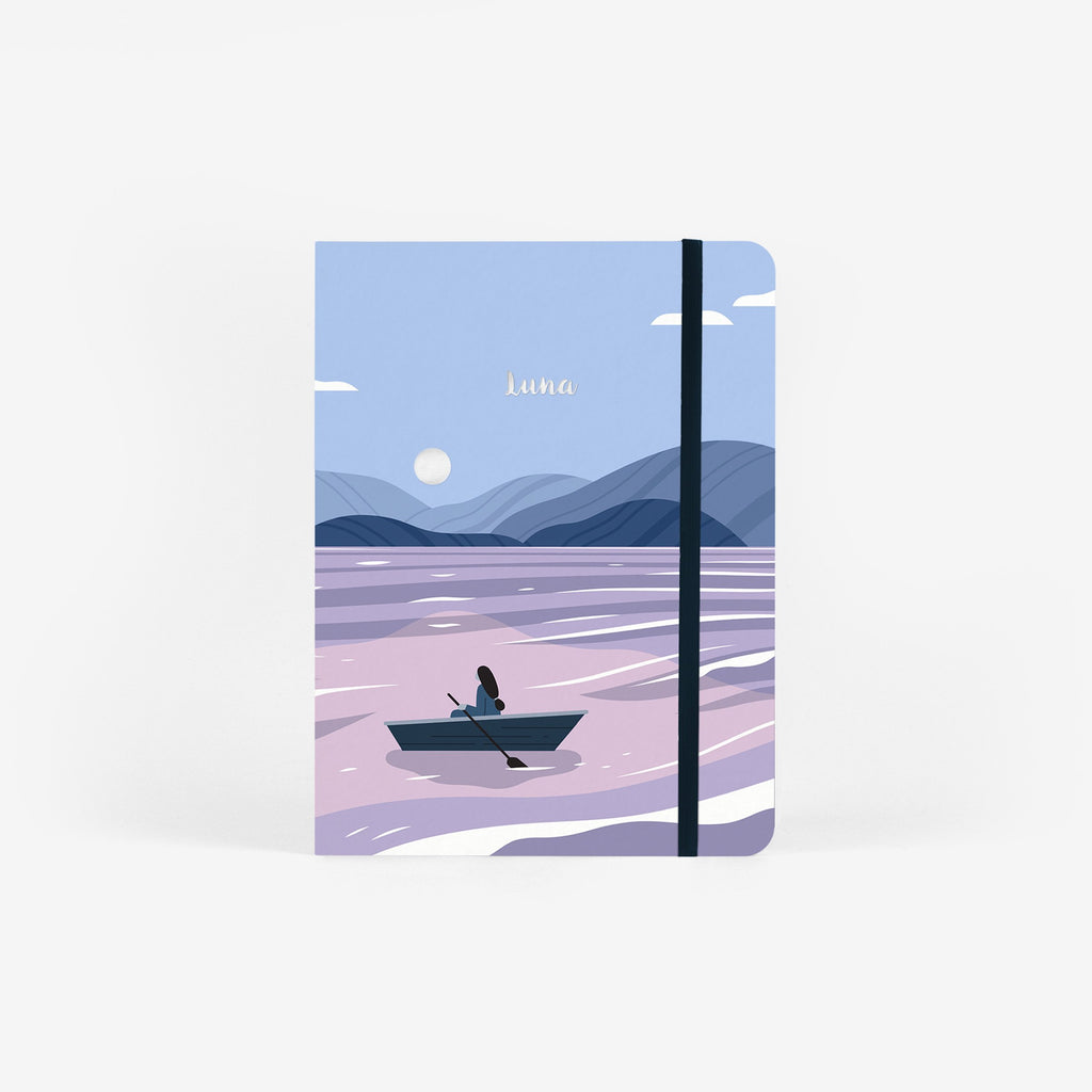 Moon Lake Wirebound Notebook
