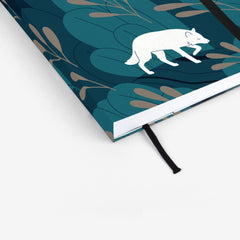 Night Wolf Threadbound Notebook