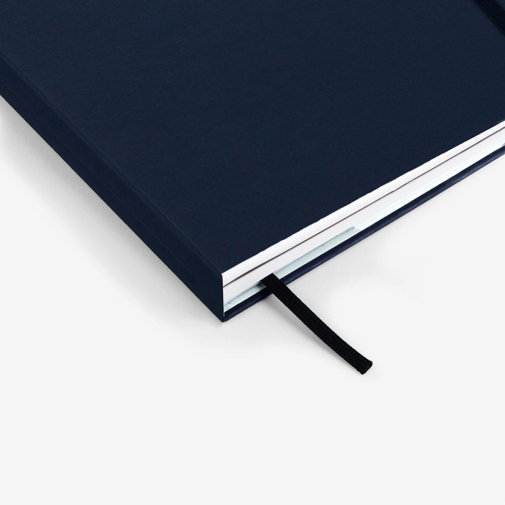 Plain Navy Twinbook