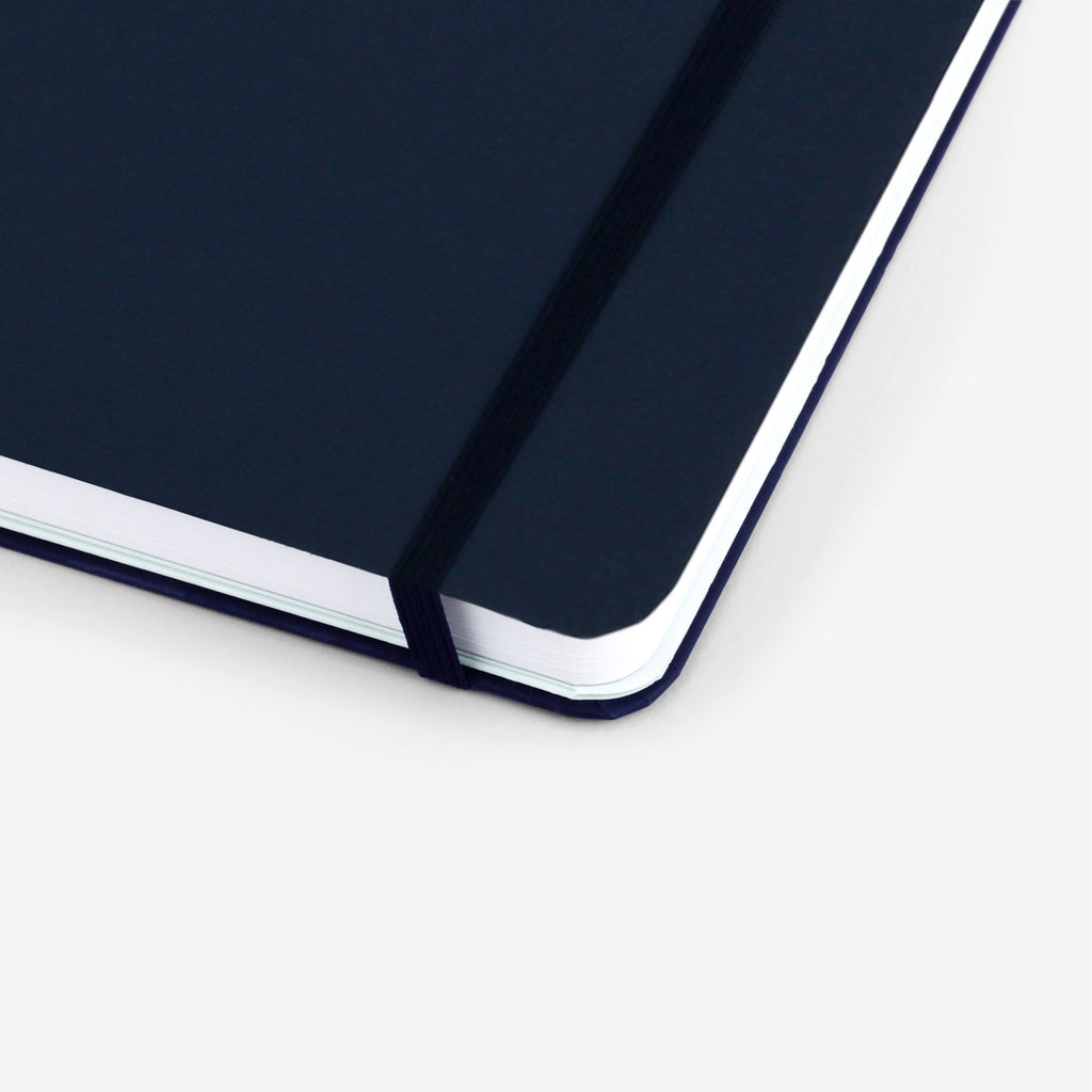 Plain Navy Undated Planner