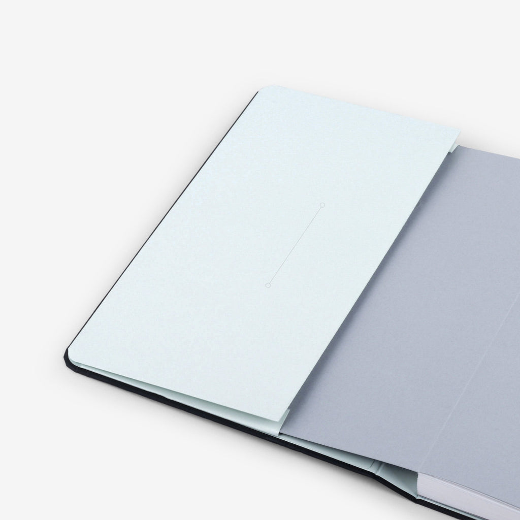Plain Forest Threadbound Notebook