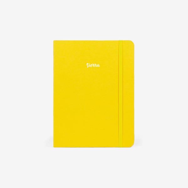 Sunshine Yellow Threadbound Notebook