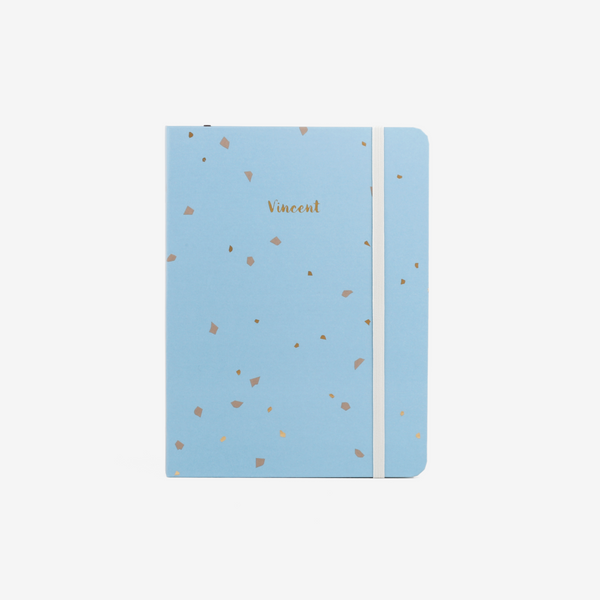 Almond Blossoms Medium Threadbound Notebook