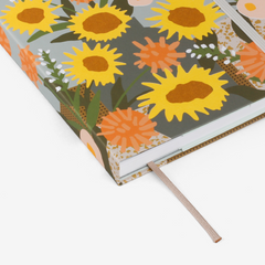 Sunflowers Threadbound Notebook