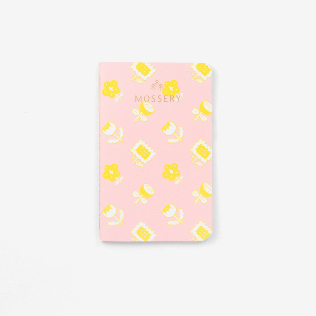 Yellow Flowers Pocket Notebook