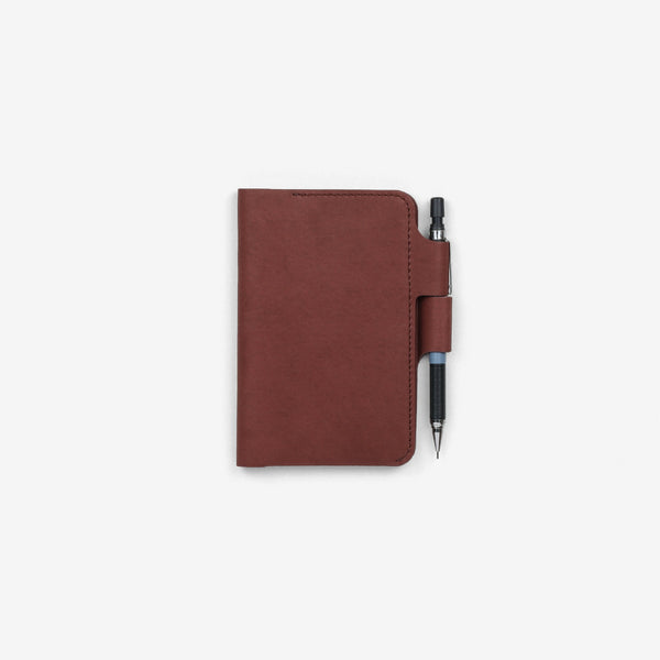 Walnut Pocket Notebook Leather Sleeve