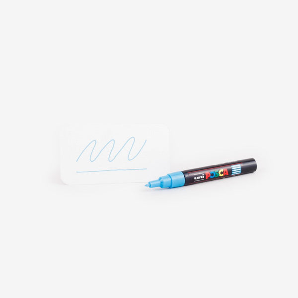 Uni Posca Marker PC 1M - Light Blue