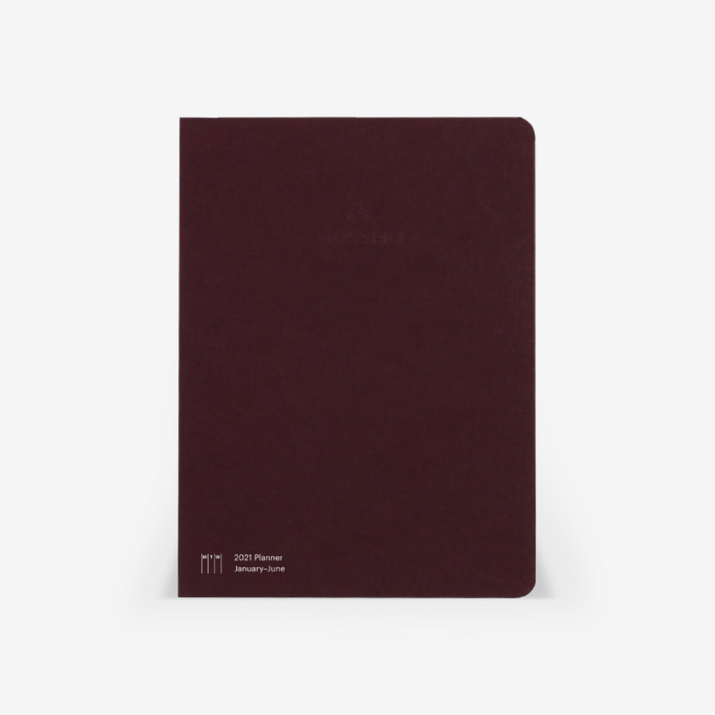 Second Chance: 2021 Vertical Half-Year Planner Refill (January-June)