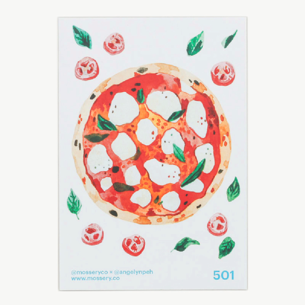 Artist Series Stickers: Pizza (STC-501)
