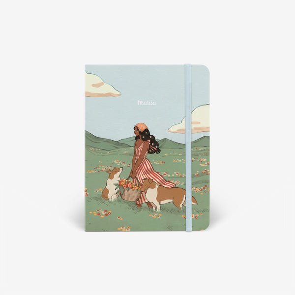 Spring Collies Threadbound Cover