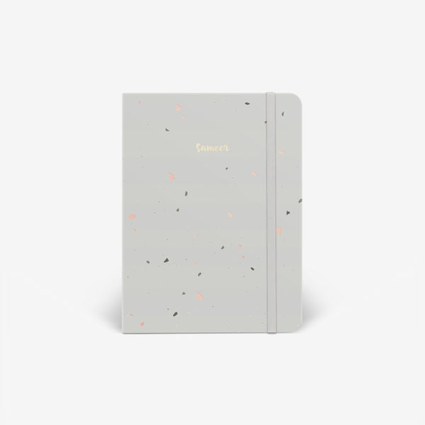 Stone Speckle Threadbound Notebook