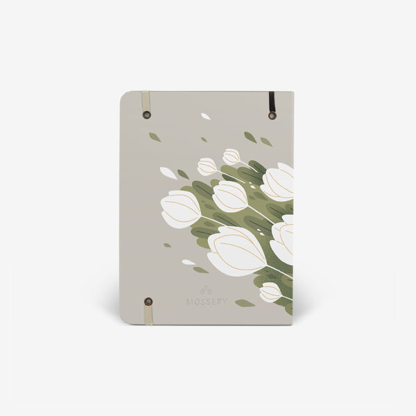 Tulips Threadbound Notebook