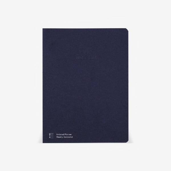 Horizontal Half-Year Planner Refill (Undated)