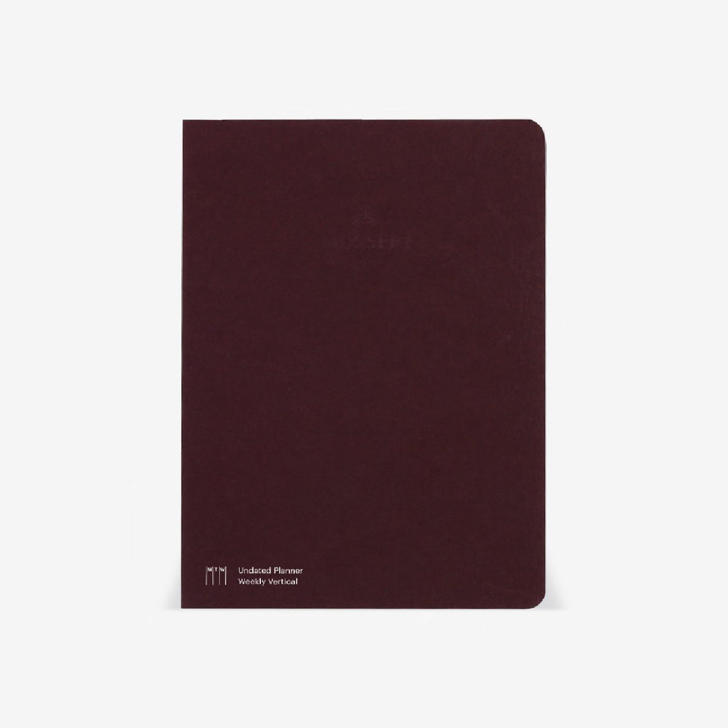 Vertical Half-Year Planner Refill (Undated)