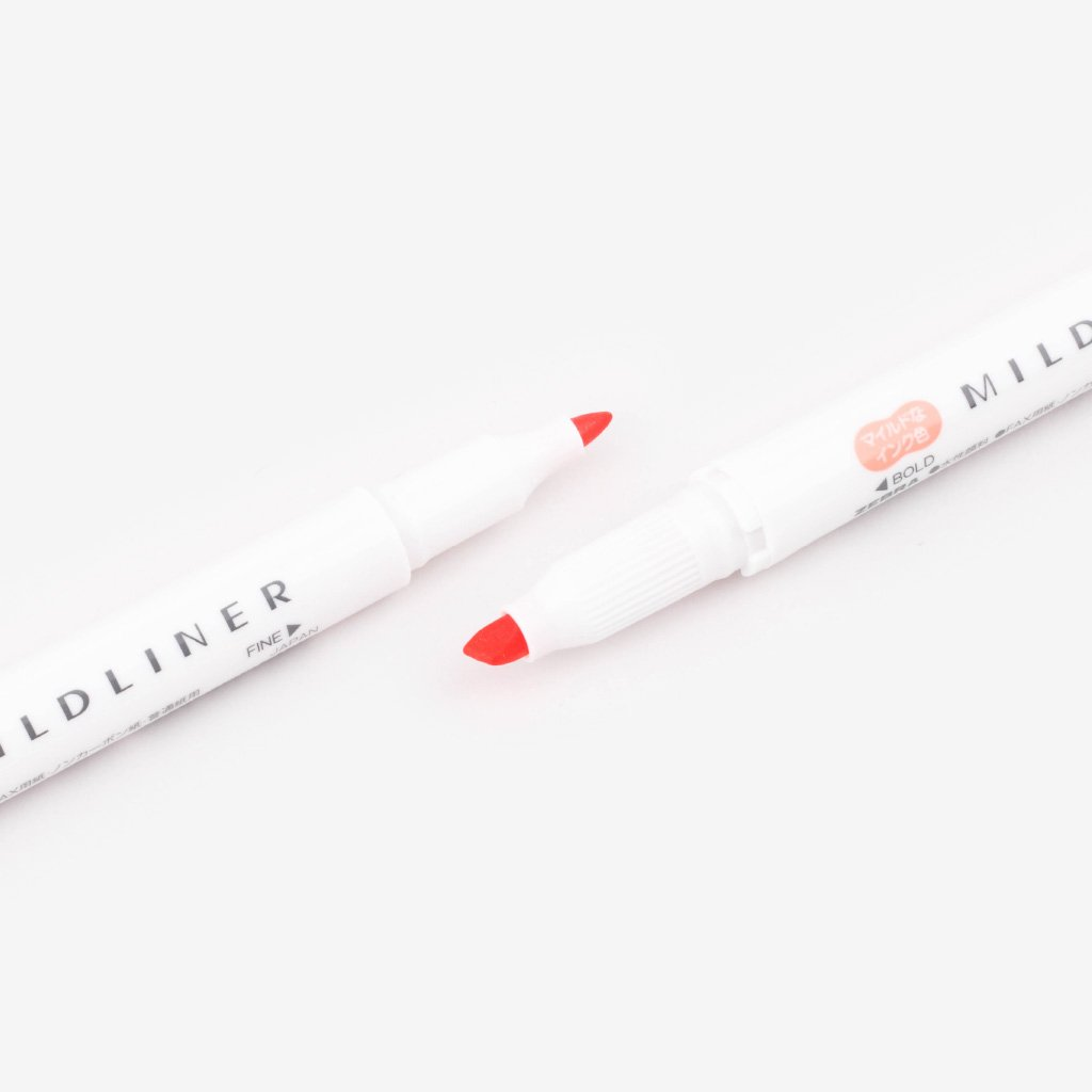 Mildliner Double-Sided Highlighter - Apricot