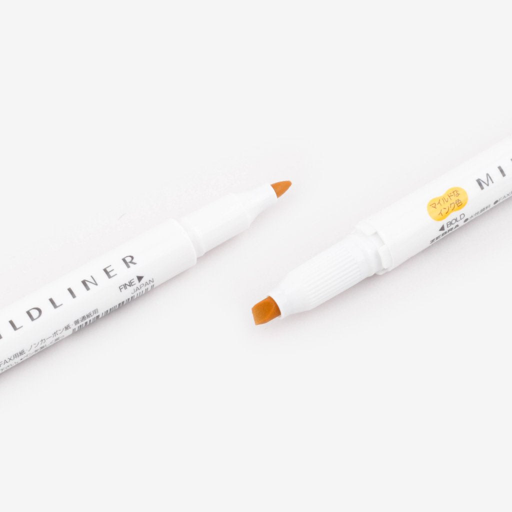 Mildliner Double-Sided Highlighter - Gold