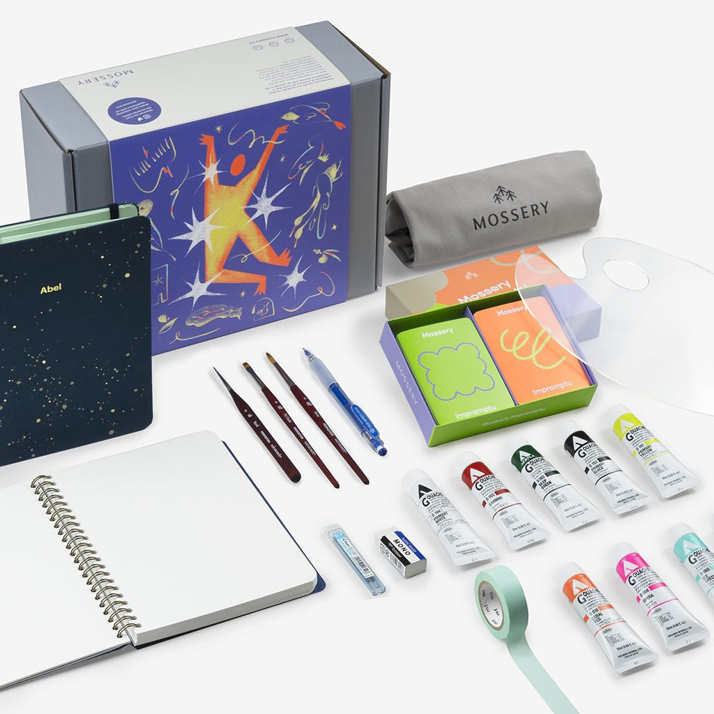 Gouache Art Kit